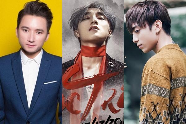 Những gương mặt MV trăm triệu view 2017: Phan Mạnh Quỳnh, Sơn Tùng, Soobin Hoàng Sơn.