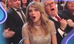 Biểu cảm 'cười ra nước mắt' của sao tại các lễ trao giải
