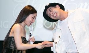 Hằng BingBoong lột xác bánh bèo khi hát nhạc của HKT