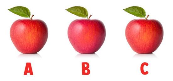 Nhanh mắt phân biệt hình có màu sắc khác biệt