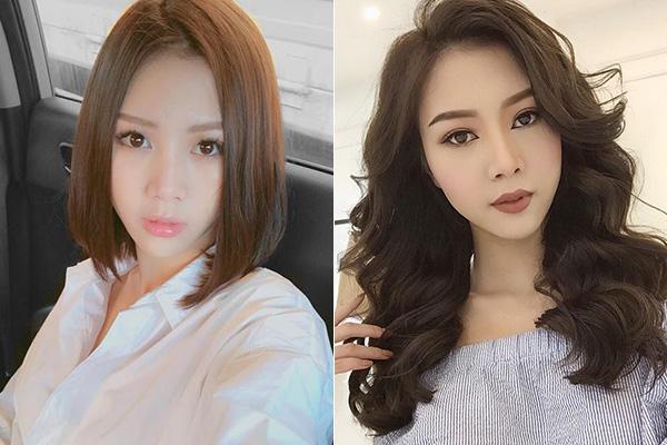 Hot girl Việt biến hình khi trang điểm kiểu Hàn và kiểu Mỹ - 3