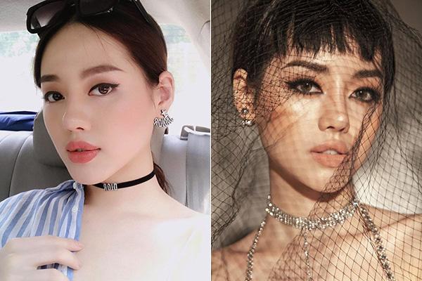Hot girl Việt biến hình khi trang điểm kiểu Hàn và kiểu Mỹ