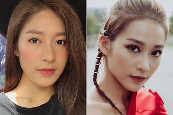 Hot girl Việt biến hình khi trang điểm kiểu Hàn và kiểu Mỹ - 6