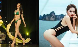 Hình thể đẹp nổi bật của Hương Giang so với các đối thủ Hoa hậu chuyển giới