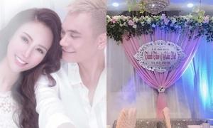 Khắc Việt làm lễ ăn hỏi với bạn gái DJ
