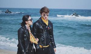 Văn Mai Hương - Bình An đi dạo Hàn Quốc tình tứ như phim