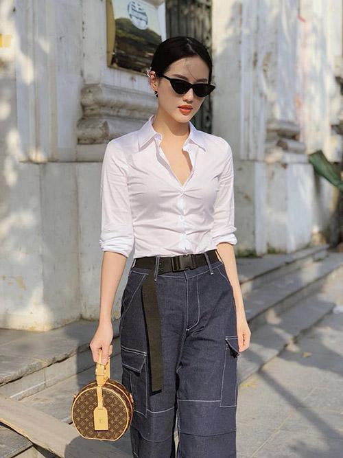 Street style long lanh ngày giao mùa của sao, hot girl Việt - 6