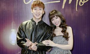 Hari Won gợi cảm cạnh 'người tình màn ảnh' kém tuổi