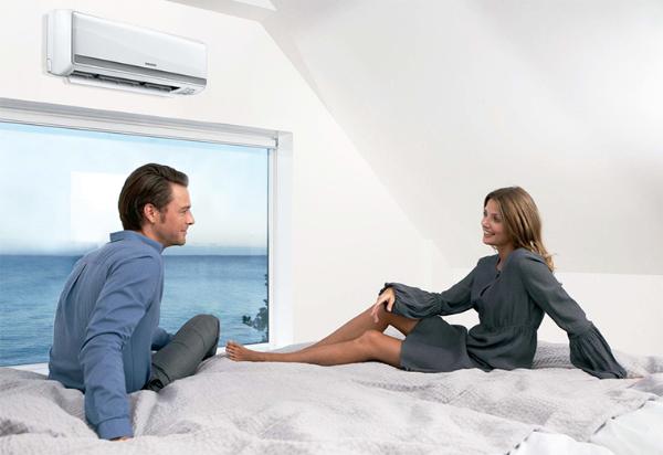 Khách hàng nên chọn những chiếc máy lạnh có công suất nhỏ để đặt trong phòng ngủ.
