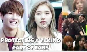 Khi các thần tượng Hàn hóa thân thành 'vệ sĩ' của fan