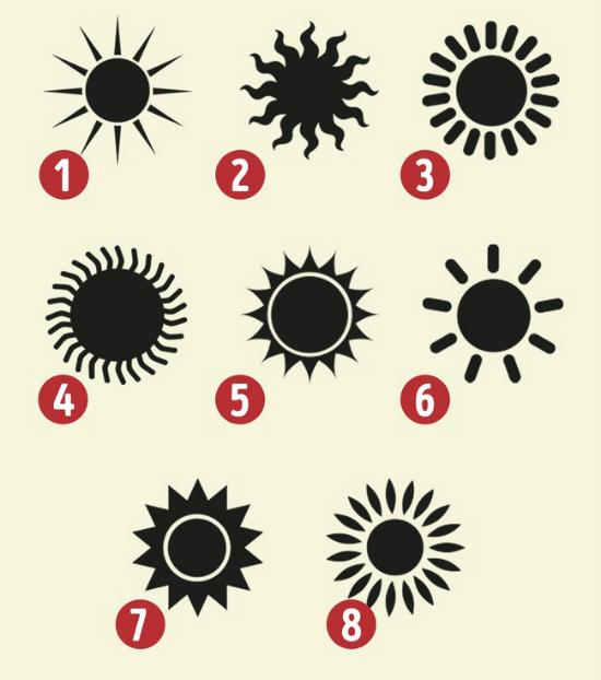 Trắc nghiệm: Biểu tượng mặt trời thể hiện tính cách tiềm ẩn trong bạn