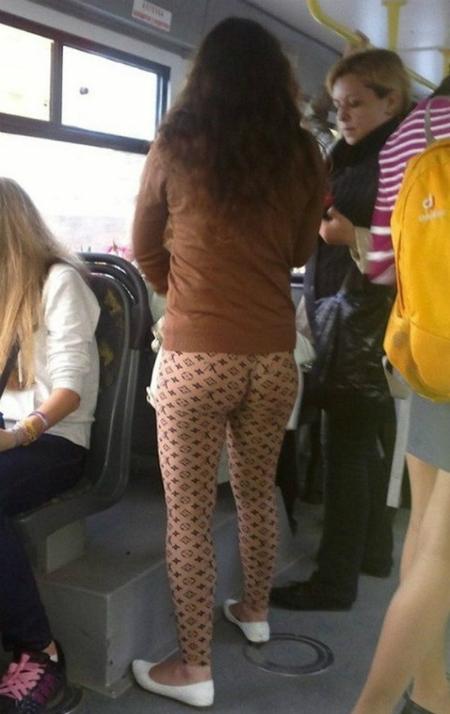 Đây là chiếc quần hay body painting đấy?