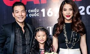 Trương Ngọc Ánh dẫn con gái chúc mừng chồng cũ Trần Bảo Sơn