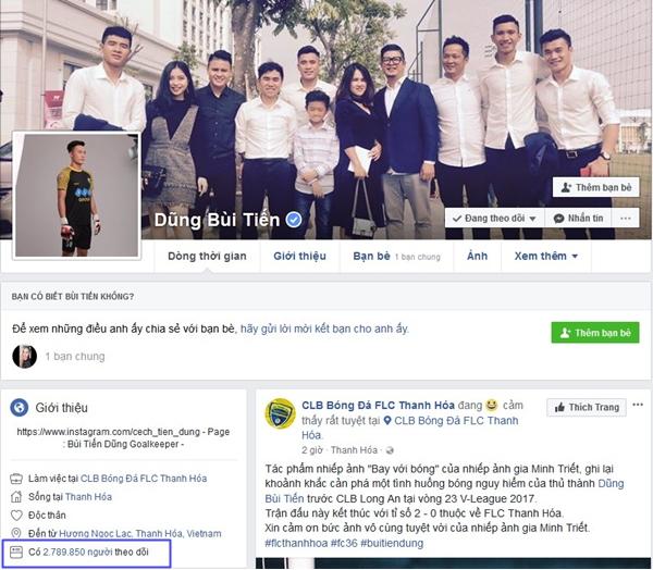Top 6 Facebook của U23 có lượt theo dõi khủng nhất - 10