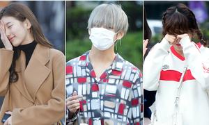 Các idol Hàn mệt mỏi đến 'không mở được mắt'