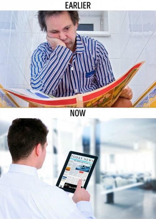 Công nghệ đang dần giết chết những thói quen xưa - 2