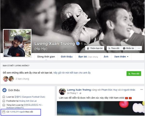 Top 6 Facebook của U23 có lượt theo dõi khủng nhất - 4