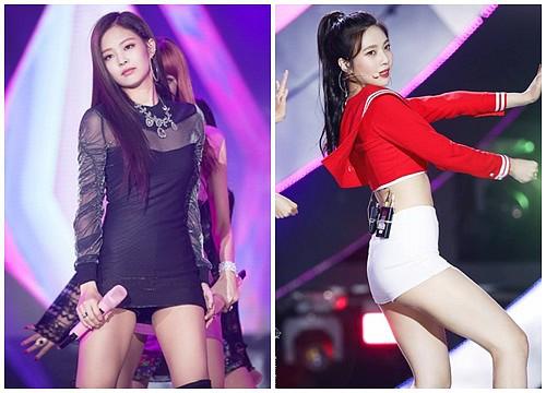 Jennie và Joy là 2 mỹ nhân nổi bật của Kpop hiện nay.
