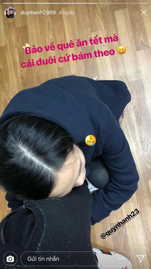 Cô bạn gái lầy của Duy Mạnh U23 sẵn sàng ghép cặp người yêu với đồng đội - 2