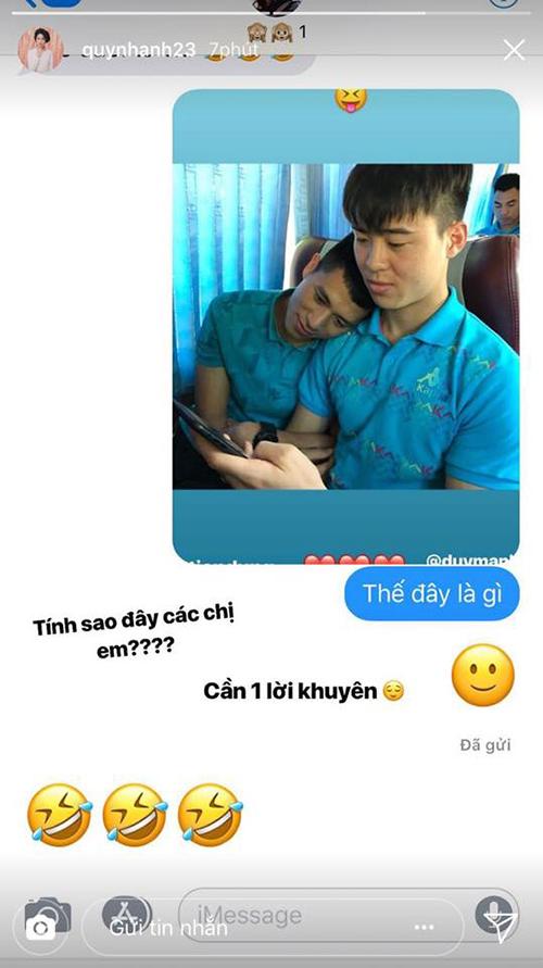 Cô bạn gái lầy của Duy Mạnh U23 sẵn sàng ghép cặp người yêu với đồng đội - 8