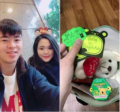 Cô bạn gái lầy của Duy Mạnh U23 sẵn sàng ghép cặp người yêu với đồng đội - 4