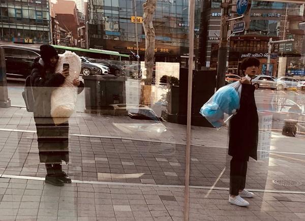 Vợ chồng Ahn Jae Hyun và Goo Hye Sun