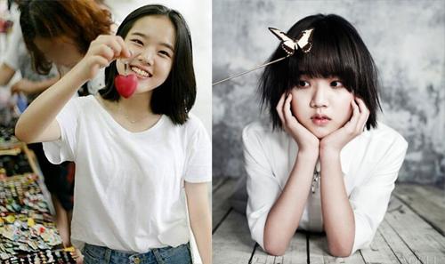 Diễn viên nhí Kim Hyang Gi một thời nay đã thành thiếu nữ xinh đẹp.