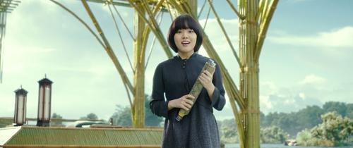 Vai diễn Vệ thần Duk Choon trongThử thách thần chết.