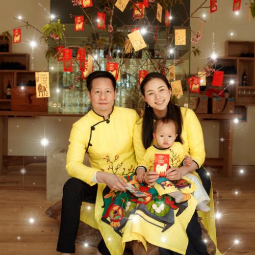 Gia đình Phan Như Thảo.