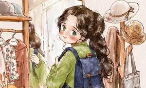 Bộ tranh cuộc sống trong mơ của một gái ế thời hiện đại