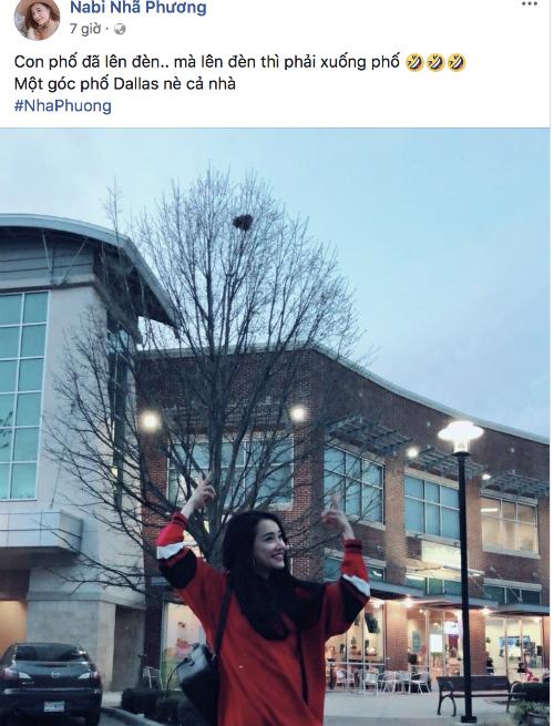 Giữa tâm bão dư luận về chuyện của bạn trai, fan vẫn thấy Nhã Phương đăng tải hình ảnh vui vẻ ở nước ngoài.