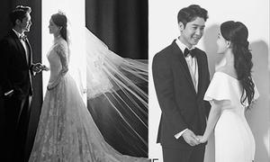 Mỹ nam Hàn tung ảnh cưới đẹp lung linh