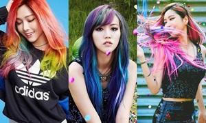 Nữ idol nào phù hợp với mái tóc cầu vồng nhất?