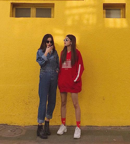 Street style mát mẻ chào hè của sao, hot girl Việt tuần qua - 2