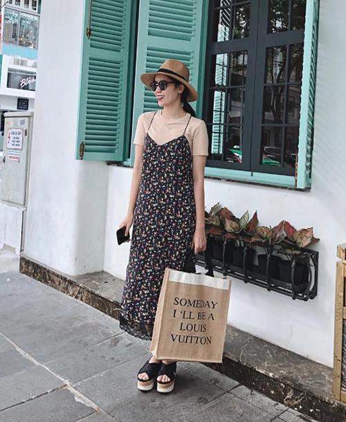Street style mát mẻ chào hè của sao, hot girl Việt tuần qua - 6