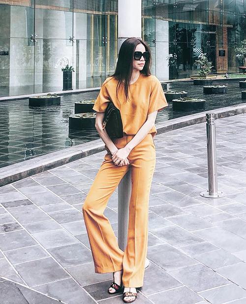 Street style mát mẻ chào hè của sao, hot girl Việt tuần qua - 3