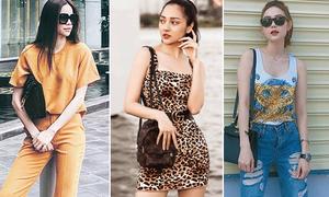 Street style mát mẻ chào hè của sao, hot girl Việt tuần qua