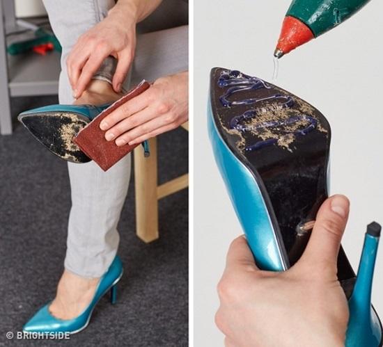 Những chiêu khó ngờ để bảo quản và vệ sinh giày - 9