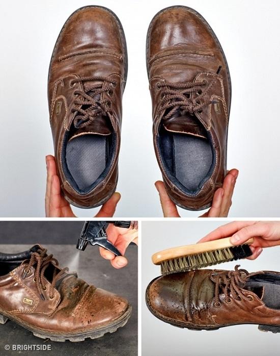 Những chiêu khó ngờ để bảo quản và vệ sinh giày - 4
