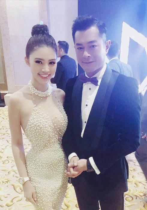 Jolie Nguyễn gợi cảm pose hình với Cổ Thiên Lạc, Hyo Min - 3