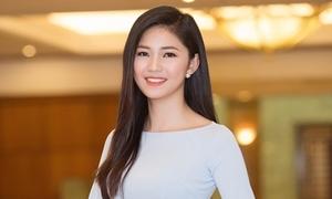 Á hậu Thanh Tú được báo Hàn ca ngợi nhan sắc