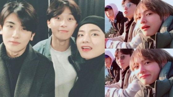 BTS sở hữu hội bạn thân toàn mỹ nam đáng nể của Kpop - 3