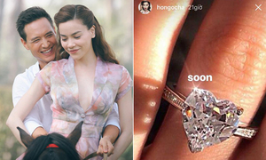 Hà Hồ bị nghi lấy ảnh nhẫn kim cương trên mạng 'sống ảo'