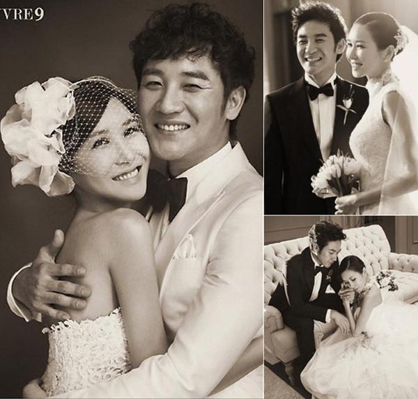 Cô dâu xinh đẹp của tài tử Uhm Tae Woong.