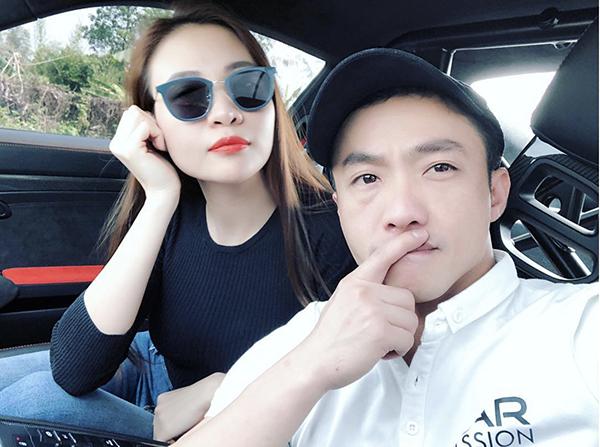 Loạt ảnh tình bể bình của Cường Đô La - Đàm Thu Trang từ sau công khai hẹn hò - 3