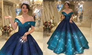 Chiếc đầm khiến nhiều người không tin có thật vì đẹp như cổ tích