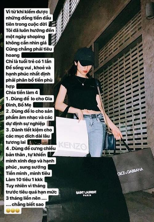 Hòa Minzy khoe chiến tích sắm hàng hiệu liên tục từ khi yêu đại gia - 2