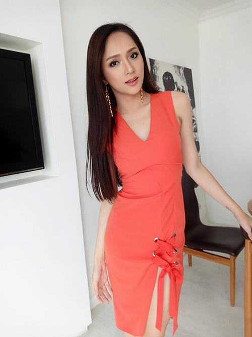 Hương Giang khác khó nhận ra khi vào tay chuyên gia makeup người Thái - 7