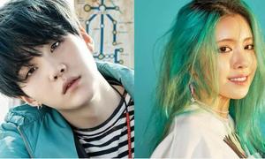 Bị nghi hẹn hò Suga (BTS), sao nữ bị fan chỉ trích 'dựa hơi'