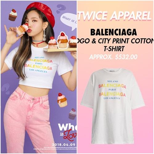Đẳng cấp của Twice: Đồ comeback là áo phông giá hàng chục triệu đồng - 3